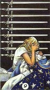 9 of swords tarot